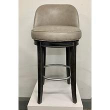 See Details - Upholstered Swivel Bar Stool