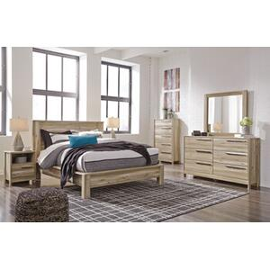 Kianni Qn Bed, Dresser, Mirror and Nightstand