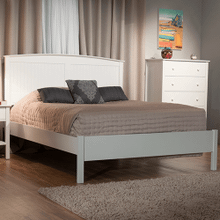 King Rockport Arch Panel Bed with Low Profile Footboard
