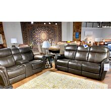 Triumph Charcoal Reclining Sofa & Loveseat