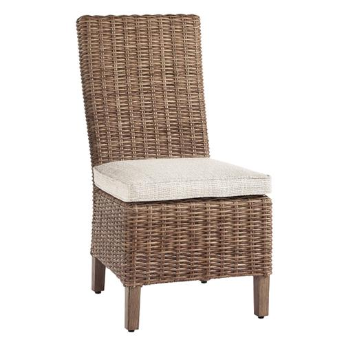 Beachcroft Outdoor Dining Table with 2 Side Chairs and 2 Arm Chairs