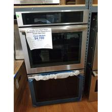 """See Details - JennAir Euro Style Series 30"""" Smart Electric Double Wall Oven JJW3830DS (FLOOR MODEL)"""