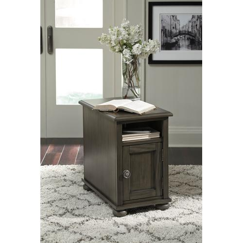 Signature Design By Ashley - Devensted Chair Side End Table