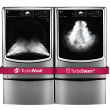 6.2 Total Capacity LG TWINWash And Electric Dryer Bundle With Free Pedestals Limited Time Deal