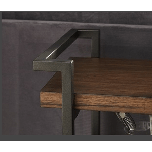 Null Furniture Inc - Small Console in Brown Cherry      (9919-26,52996)