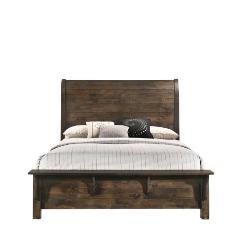 Home Furnishings - Rustic Bedroom Set