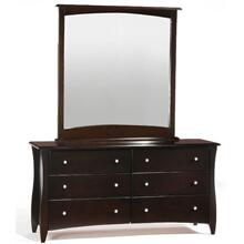 Clove 6 Drawer Dresser Chocolate Finish