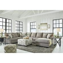 Renchen 3pc. Sectional with Ottoman
