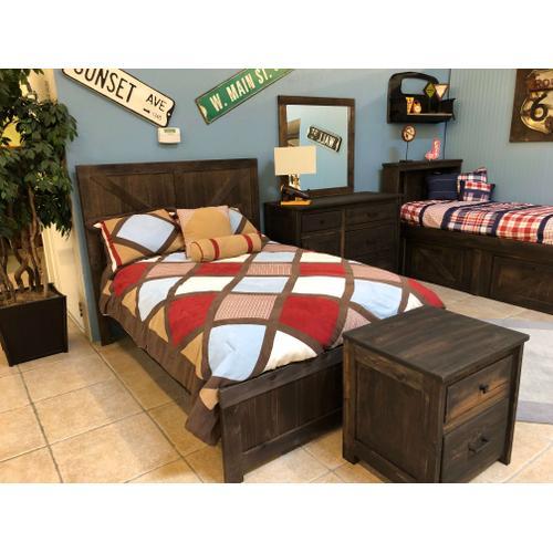 Trendwood - Full Panel Bed