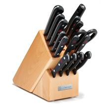 Wusthof Gourmet Knife Block Set, 16-Piece