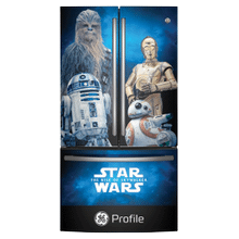 GE Profile Limited Edition Star Wars 23.1 Cu. Ft. Counter-Depth French-Door Refrigerator