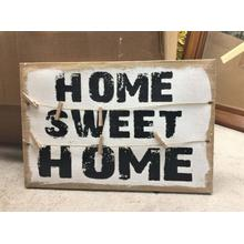 View Product - Canvas Wall Art - Sweet Home