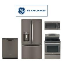 GE Slate 4 Piece Package. Price Valid Thru 9/30/20