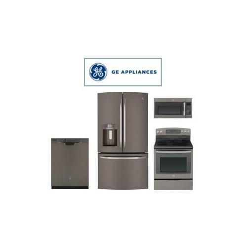 GE Slate 4 Piece Package. Price Valid Thru 6/22/21