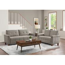 Dorelle Sofa and Loveseat