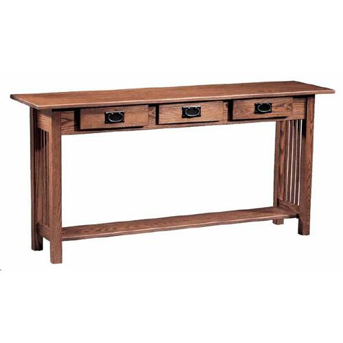 Mission 3- Drawer Sofa Table
