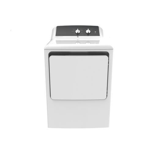 GE Appliances - GE 6.2 cu. ft. Capacity aluminized alloy drum Gas Dryer