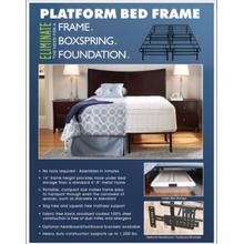 Eliminate Platform Bed
