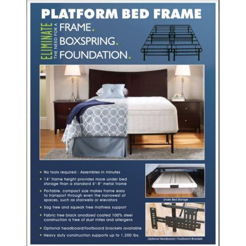 Gallery - Eliminate Platform Bed