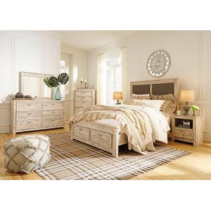Willabry Qn Bed, Dresser, Mirror and Nightstand