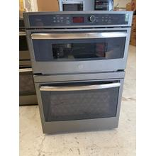 "CLEARANCE SPECIAL - GE Profile™ 30"" Built-In Combination Convection Microwave/Convection Wall Oven  (Display Model)"