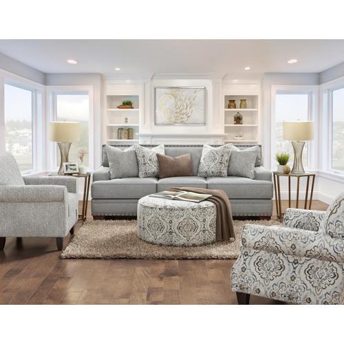 Designer's Choice - Bates Charcoal Sofa & Loveseat