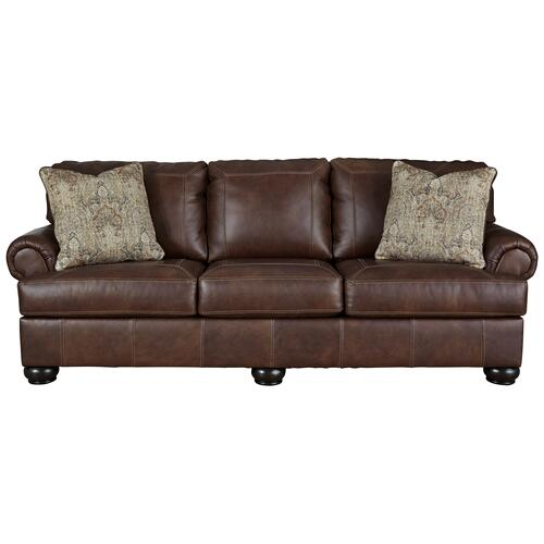 Ashley 879 Benerton Leather Sofa