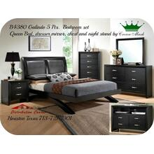 Crown Mark Furniture B4380 Galinda Bedroom Set Houston Texas USA Aztec Furniture