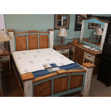 See Details - Queen Multicolored Bed