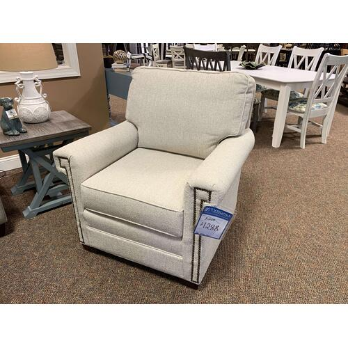 Accent Chair with Nailhead Trim Style 0702