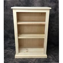 See Details - Maine Made 24X36 Bookcase 24W X 36H X 13D Pine Unfinished