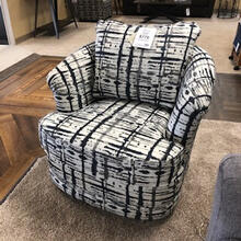 7403 Swivel Barrel Chair