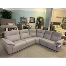 Leather 3 Piece Power Reclining Sectional