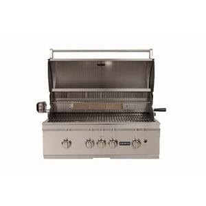 """CSL36NG Coyote 36"""" grill with backlit LED knobs"""
