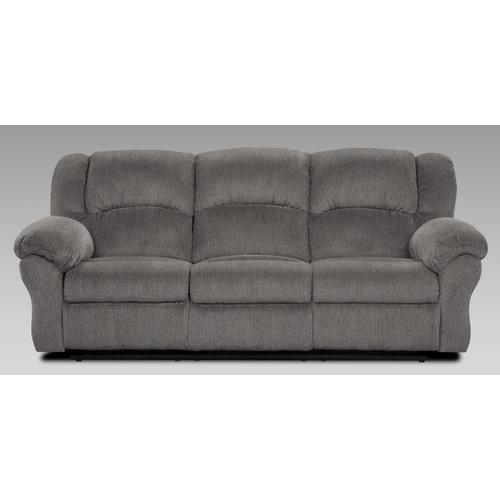 Allure Grey Reclining Sofa