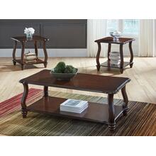 T339-13  Cocktail and 2 End Tables