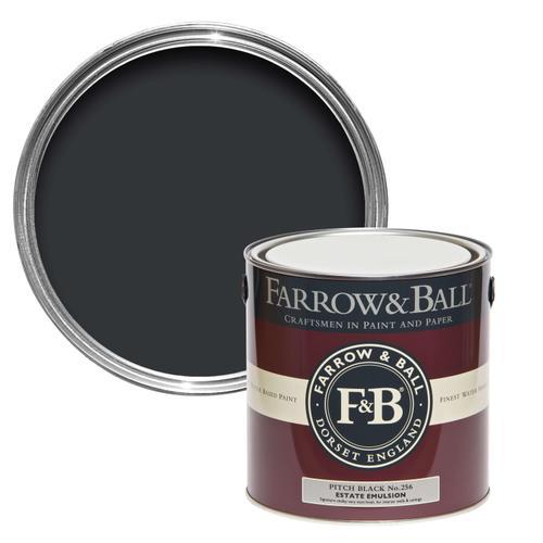 Farrow & Ball - Pitch Black No.256
