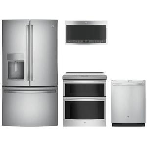 GE PROFILE STAINLESS PREMIUM PACKAGE