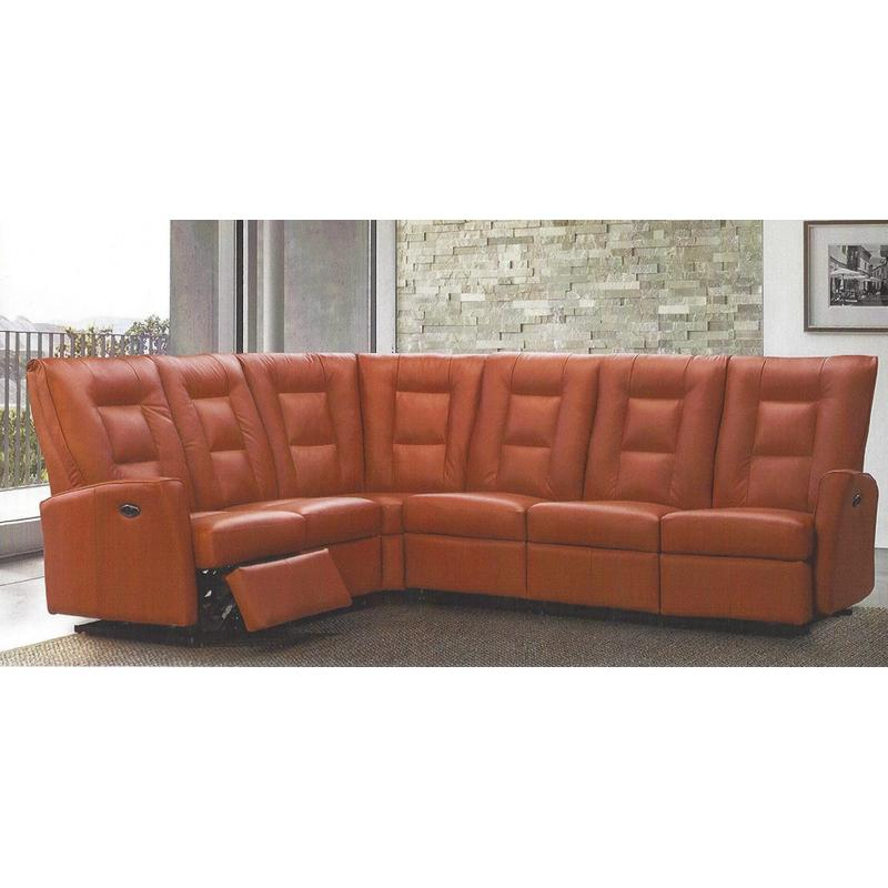 Lydia Power Reclining Sectional