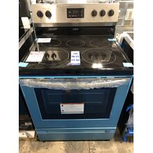 Frigidaire 30 in. 5.3 cu. ft. Rear Control Electric Range in Stainless Steel **OPEN BOX ITEM** West Des Moines Location