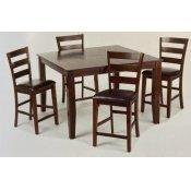 Kona Counter Table & 4 Stools
