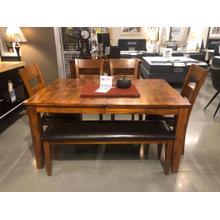 Product Image - Mango Dining Set w/leaf (6 pc set)