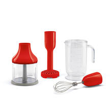 Smeg 50's Retro Style Aesthetic Hand Blender Accessories for HBF01, Red
