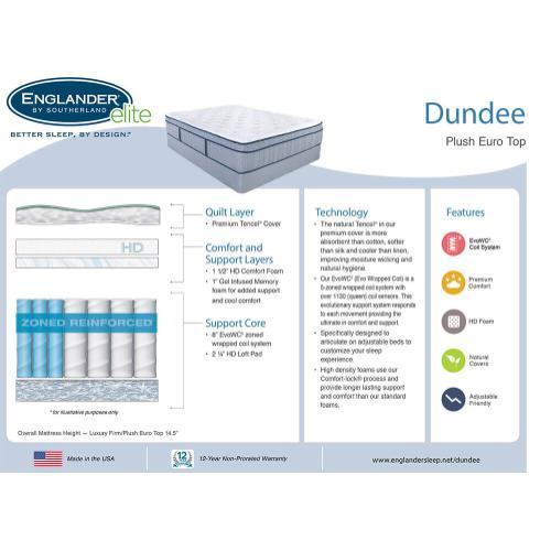 Dundee Plush Euro Top