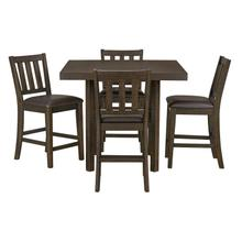 15416 Arlo 5PC Counter Height Table Set