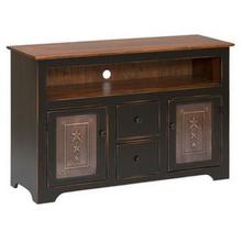 TV Console with Drawers and Tin