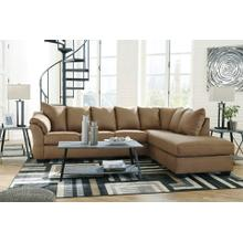 Darcy Mocha 2pc. L-Shaped Sectional