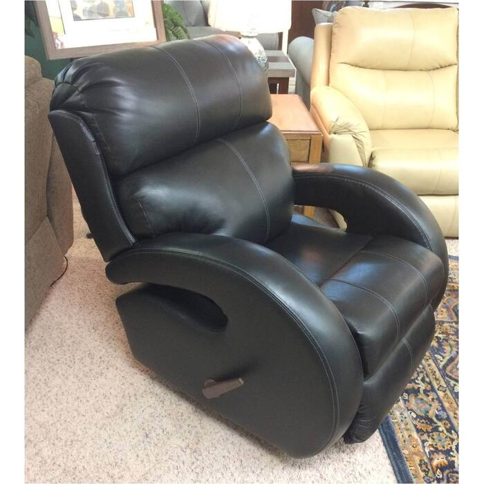 Leather Swivel Rocker/Recliner