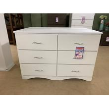GF Furniture dresser white