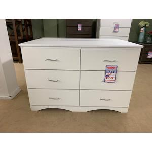 GF Furniture dresser white